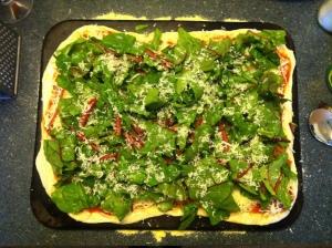 Swiss Chard Pizza - I'm sensing a theme here.